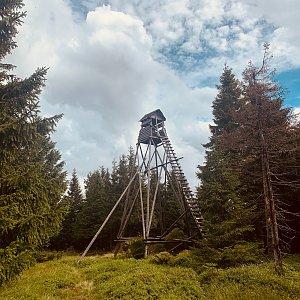 Aneta Šeráková na vrcholu Černý vrch (23.8.2020 12:07)
