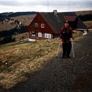 Mountainer na vrcholu Přední Planina (3.5.2003 17:20)