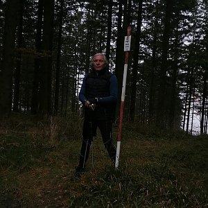 Jaroslav Hrabuška na vrcholu Příslop (15.10.2021 13:41)