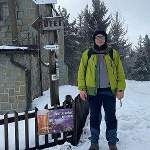 Pery na vrcholu Velká Čantoryje / Czantoria Wielka (24.1.2021 12:27)
