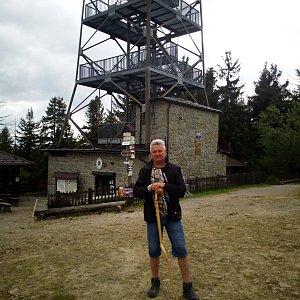 Roman Matejovský na vrcholu Velká Čantoryje / Czantoria Wielka (13.6.2021 15:40)
