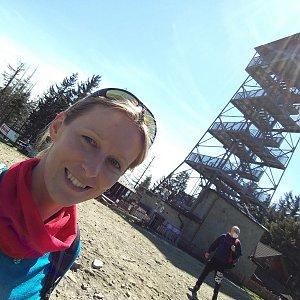 Michaela Karásková na vrcholu Velká Čantoryje (8.5.2020 14:06)