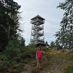 Sandra Blazkova na vrcholu Velká Čantoryje (13.9.2020 17:44)