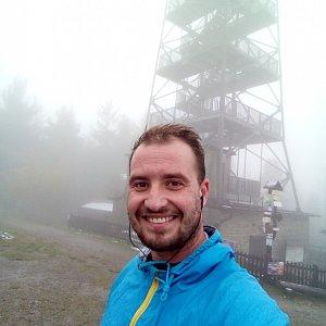 Bartek_na_cestach na vrcholu Velká Čantoryje (16.10.2020 11:14)