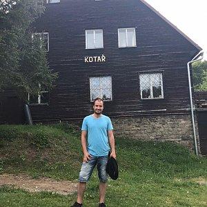 Bartek_na_cestach na vrcholu Kotař (23.5.2020 18:18)