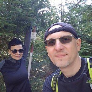 Aleš Sýkora na vrcholu Mizerov  (14.4.2018 12:14)
