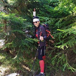 Pavlína Sýkorová na vrcholu Mizerov  (18.4.2020 11:51)
