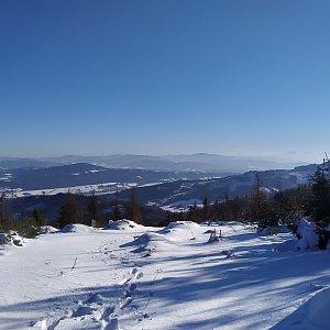 Radek xxx na vrcholu Kozubová (7.1.2020 11:02)