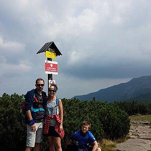 Michal na vrcholu Malá Babia hora (12.8.2019 13:30)