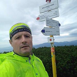Vítězslav Vrána na vrcholu Malá Babia hora (7.9.2019 10:58)