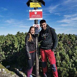 Fíkus na vrcholu Malá Babia hora (12.10.2019 12:00)