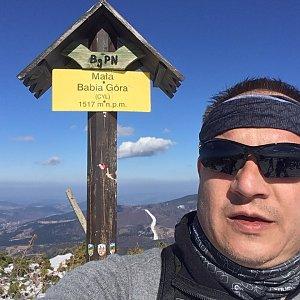 Pery na vrcholu Malá Babia hora (23.3.2019 13:46)