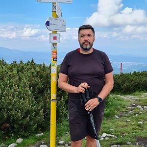 Jiří Gryz na vrcholu Malá Babia hora (4.7.2021 12:01)