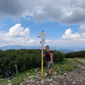 IG na vrcholu Malá Babia hora (4.7.2021 12:02)