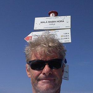 Jaroslav Macura na vrcholu Malá Babia hora (13.8.2021 10:32)