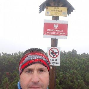 Patrik Valas na vrcholu Malá Babia hora (19.9.2021 11:03)