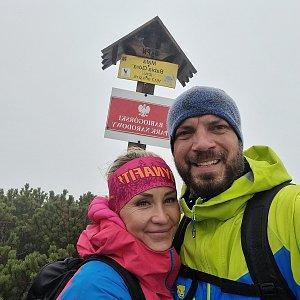 Tomík na vrcholu Malá Babia hora (19.9.2021 11:01)