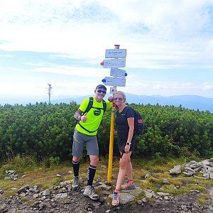 Petr Bartoň na vrcholu Malá Babia hora (26.9.2021 19:51)