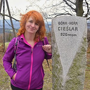 David Dudzik na vrcholu Česlar (19.4.2020 13:55)