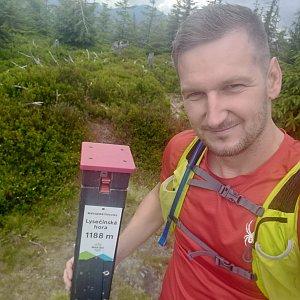 Jiří Tomaštík na vrcholu Lysečina (19.7.2020 11:36)