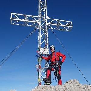 Patejl na vrcholu Hoher Dachstein (5.8.2019 8:17)