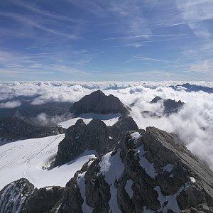 martenzites na vrcholu Hoher Dachstein (14.9.2019 11:00)