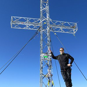 Divočák na vrcholu Hoher Dachstein (12.10.2019 12:40)