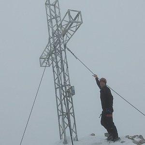 Divočák na vrcholu Hoher Dachstein (4.10.2020 13:30)