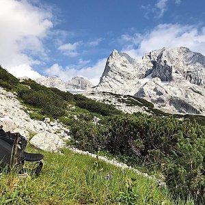 Martin Matějka na vrcholu Hoher Dachstein (26.7.2020 11:05)