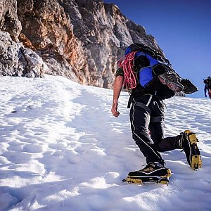 Mikeš na vrcholu Hoher Dachstein (11.11.2018 10:04)