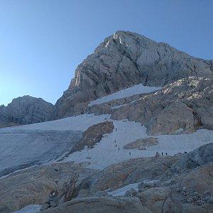 Jakub Fridex Fridrich na vrcholu Hoher Dachstein (4.8.2018 10:00)