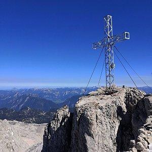 Hancula na vrcholu Hoher Dachstein (5.9.2020)