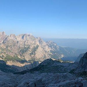 Alexandr Starý na vrcholu Hoher Dachstein (21.7.2021 10:45)