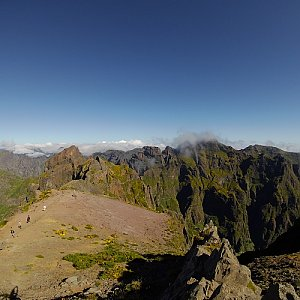 Petr T. na vrcholu Pico Ruivo (15.7.2018 10:31)