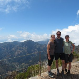 Iveta Válová na vrcholu Pico Ruivo (29.8.2021 12:00)