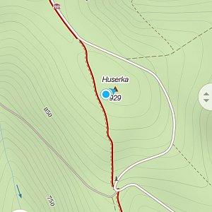 Jiří Tomaštík na vrcholu Huserka  (4.7.2021 18:49)