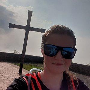 Veronika Chovancová na vrcholu Hvozd (27.6.2020 10:00)