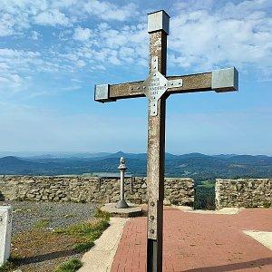 Radek Vohryzka na vrcholu Hvozd (26.9.2021 10:07)
