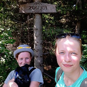 V+V Soklíci na vrcholu Folvark (28.7.2019 11:36)
