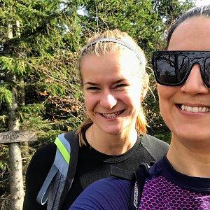 Andulka na vrcholu Folvark (19.10.2019)