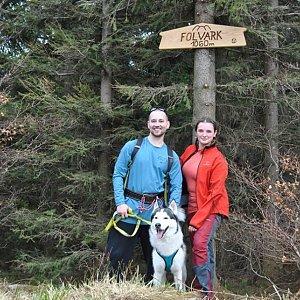David Bunny Beil na vrcholu Folvark (31.3.2019 11:00)