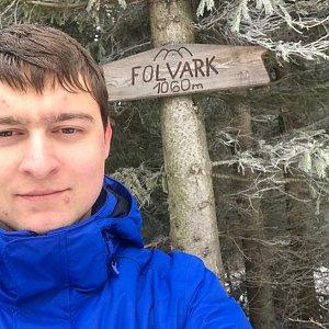 Bronislav na vrcholu Folvark (11.1.2020 11:30)