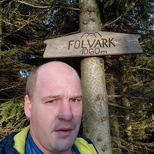 Petr Petrik na vrcholu Folvark (16.1.2020 15:39)