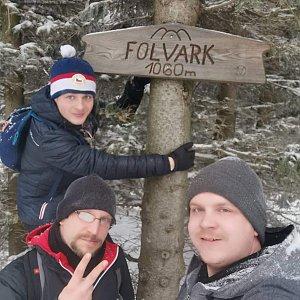 Lukáš, Vojta, a Martin Maupi Day na vrcholu Folvark (19.1.2020 16:37)