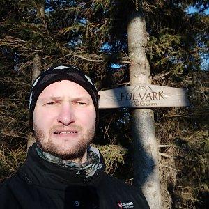 invader na vrcholu Folvark (24.1.2020 15:25)