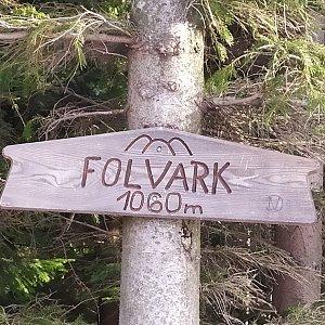 Satánek na vrcholu Folvark (19.2.2020 9:41)