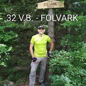 Aleš Sýkora na vrcholu Folvark (2.6.2018 10:51)