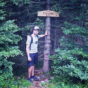Jack Skurello na vrcholu Folvark (16.6.2018 12:20)
