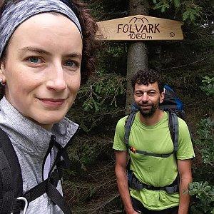 Babunka159 na vrcholu Folvark (18.6.2018 12:45)