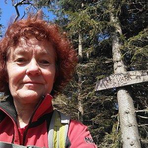Anna na vrcholu Folvark (16.5.2020 14:38)
